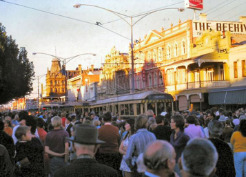 Last-day-of-trams-as-Public-Transport---Bendigo-Tramways---1972-2