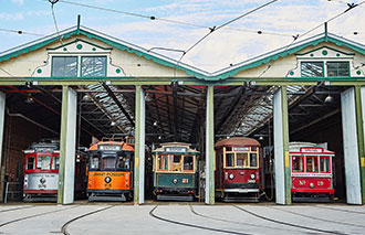 Home Bendigo Tramways