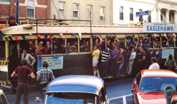 Last day of trams as Public Transport in Bendigo 1972