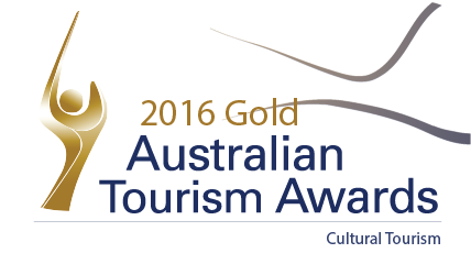 2016 Australia Tourism Awards Logo for Cultural Tourism